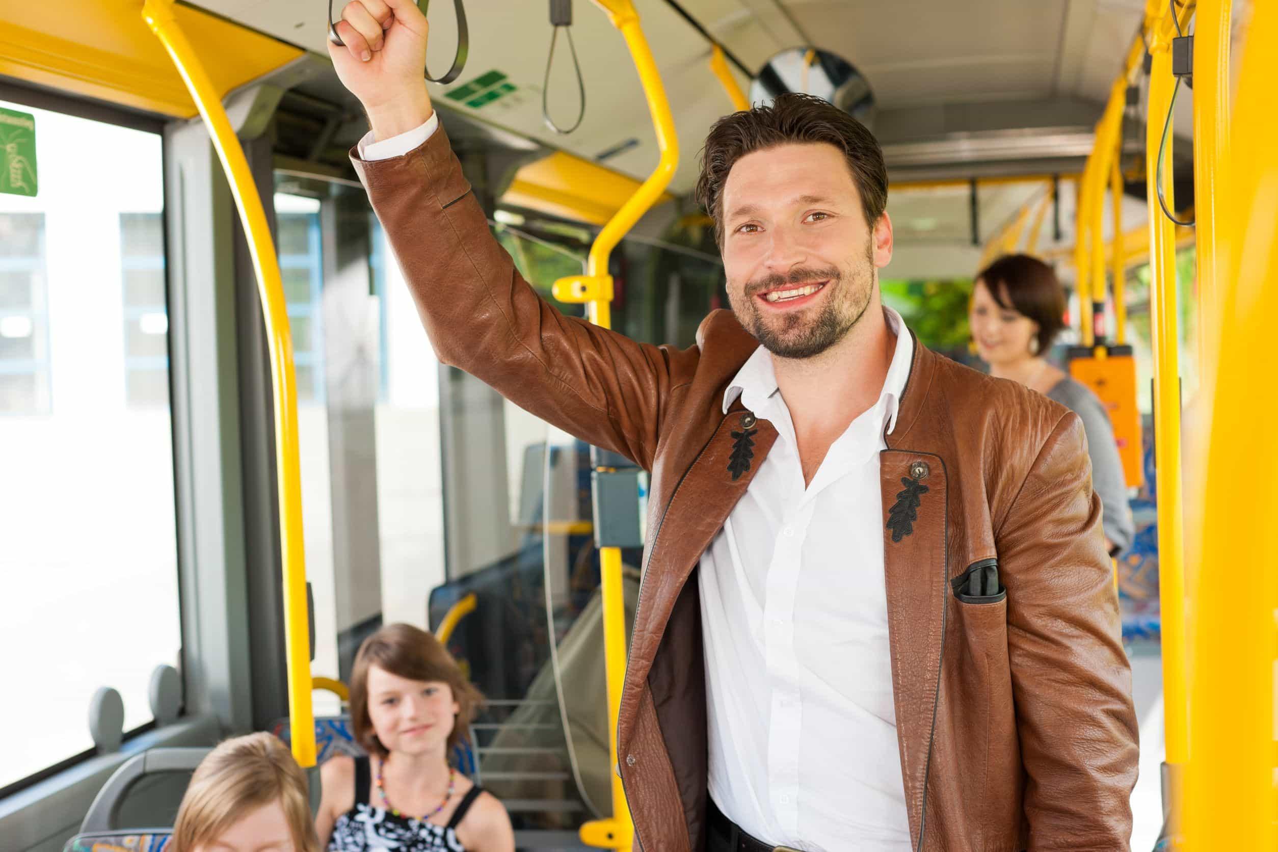 transporte público bueno para la salud,