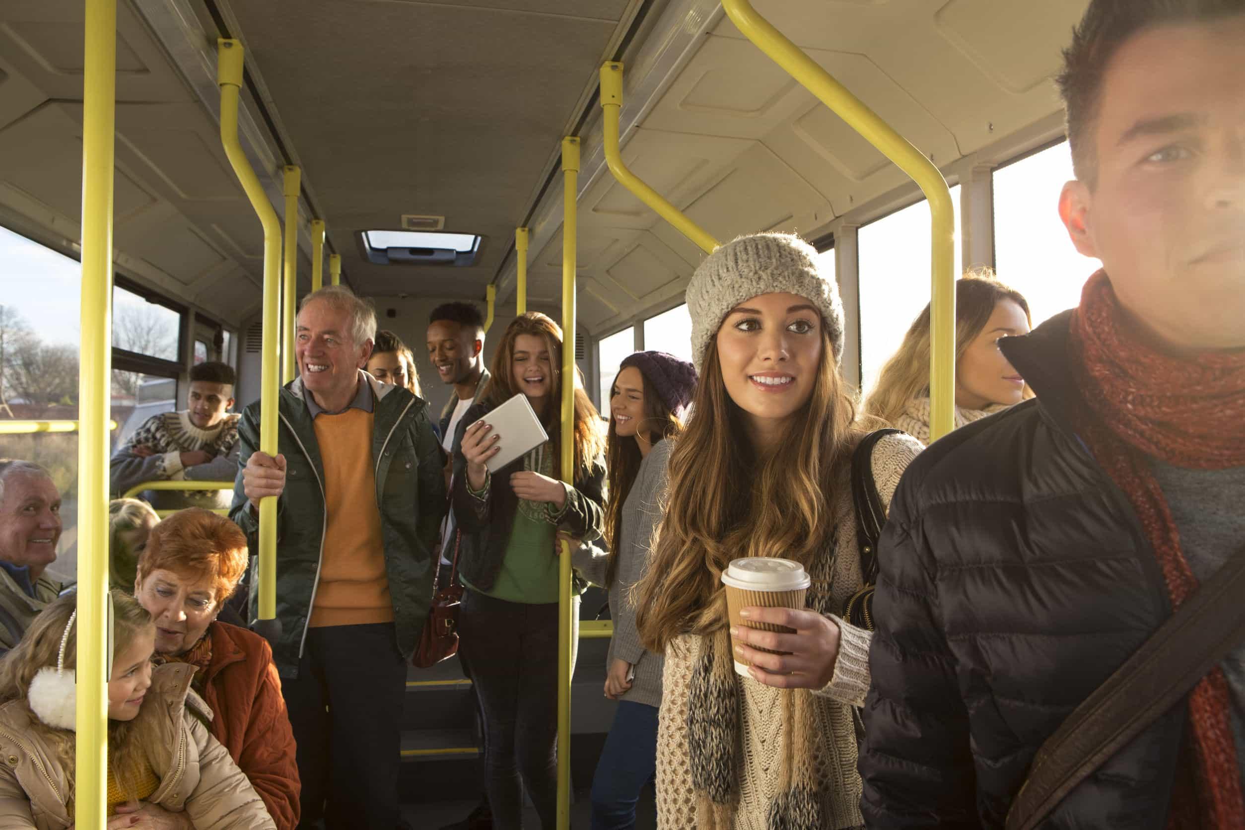 comportarse autobús