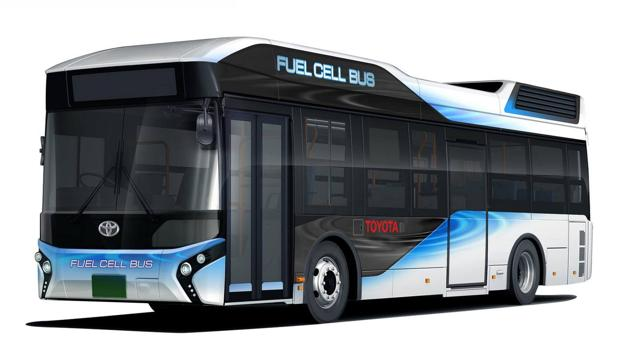 autobús hidrógeno