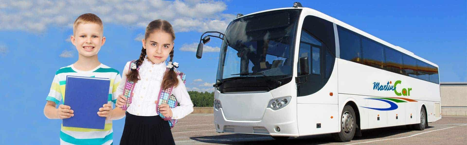 Slider transporte escolar
